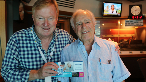 Article image for Australian actor Alan Hopgood previews his new show, Never Too Old, on 3AW Afternoons