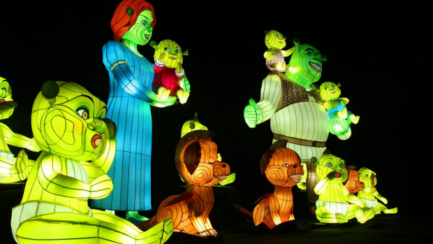 Article image for Mornington Peninsula set to shine with lanterns of DreamWorks characters