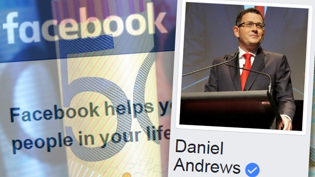 Article image for Daniel Andrews spent $120,000 on Facebook advertising in 2016