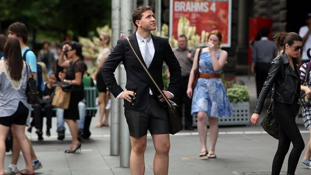 Article image for Men should dress to be comfortable, confident and appropriate, no matter the occasion