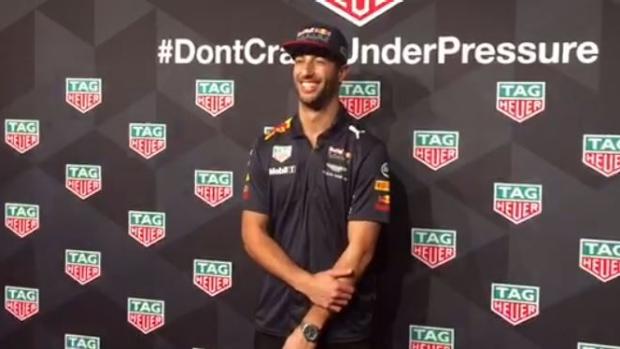 Article image for F1 superstar Daniel Ricciardo discusses the big picture with Donna Demaio