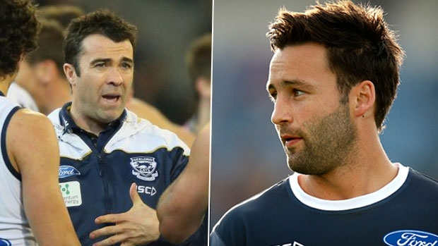 Article image for Jimmy Bartel responds to Chris Scott after the Geelong coach said he could have handled exit better