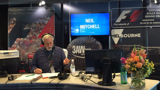Article image for 3AW Radio at the 2017 Formula 1 Rolex Australia GP