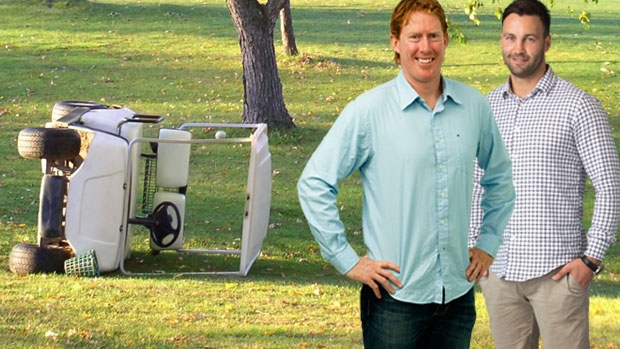 Article image for Jimmy Bartel explains how Cameron Ling got injured flipping a golf cart the day before a game