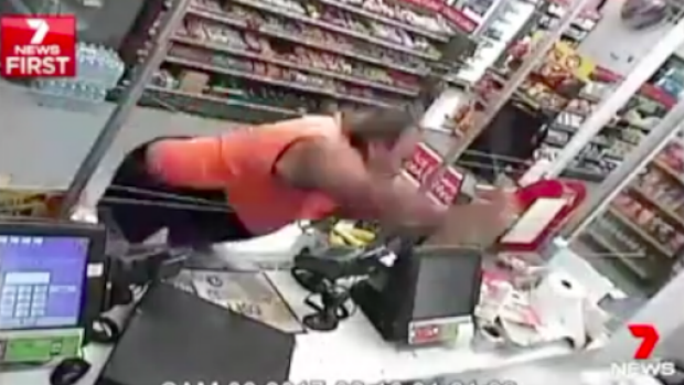 Article image for Hero truckie stops petrol station robbery