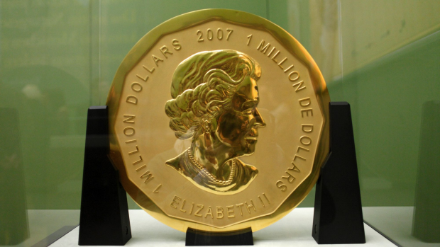 Article image for Cold coin 'Big Maple Leaf' worth five million dollars stolen from Berlin museum