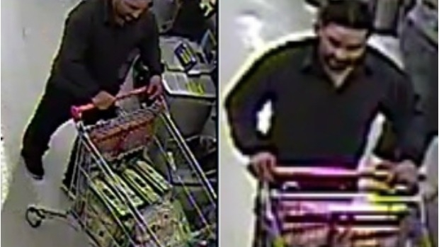 Article image for Man slips out of supermarket with 72 litres of olive oil