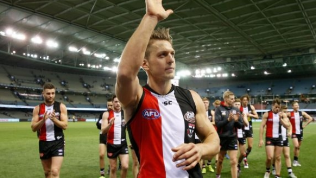 Article image for St Kilda says Sean Dempster is seeking 'medical advice' as he considers AFL future