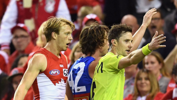 Article image for Michael Christian explains why Callum Mills' deliberate rushed behind was paid