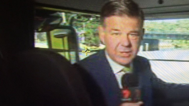 Article image for Nick McCallum rubbishes claims he wasn't wearing a seatbelt in a news story