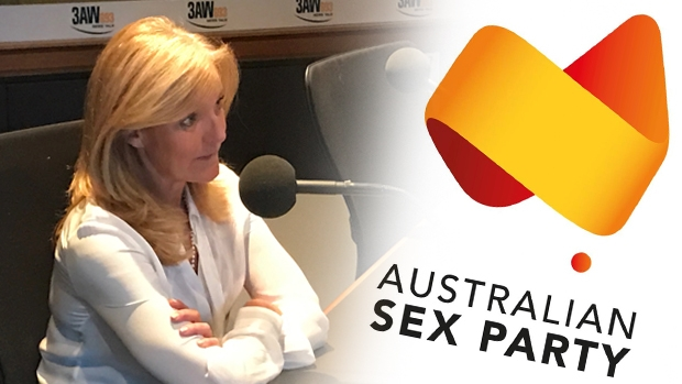 Article image for Fiona Patten reveals on 3AW the Australian Sex Party is considering a name change