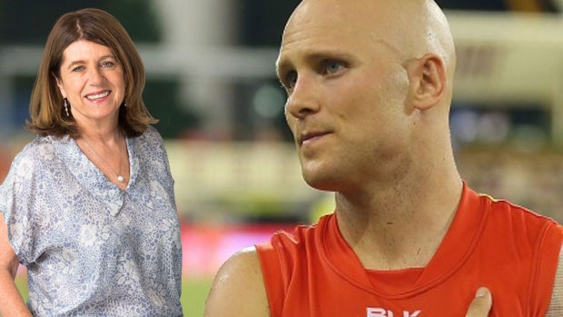 Article image for Caroline Wilson questions Gary Ablett's leadership skills on Sportsday