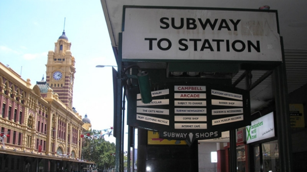 Article image for Stinking Melbourne subway wreaking havoc for arcade businesses