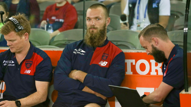 Article image for Max Gawn to miss around three months with hamstring injury