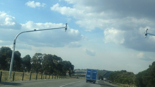 Article image for New speed cameras on Hume Highway