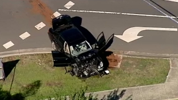 Article image for Two arrested after allegedly fleeing a collision involving a stolen car at Roxburgh Park