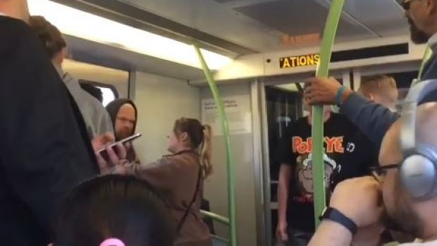 Article image for Alleged racial attack on Melbourne-bound train