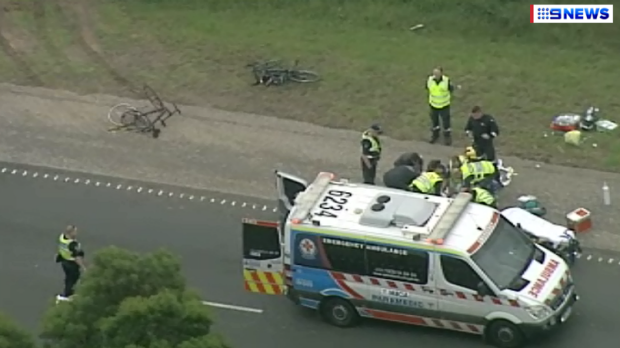 Article image for Male cyclist struck and killed by a ute at Pakenham was an off-duty police officer