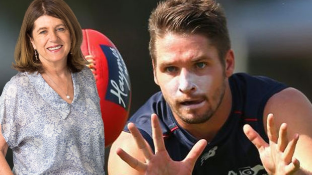 Article image for Caroline Wilson clips 'hero' who filmed Jesse Hogan smoking