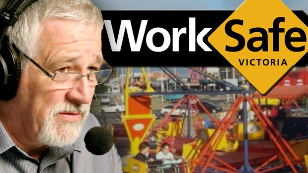 Article image for When Neil Mitchell asked WorkSafe Victoria about ride safety in 2016