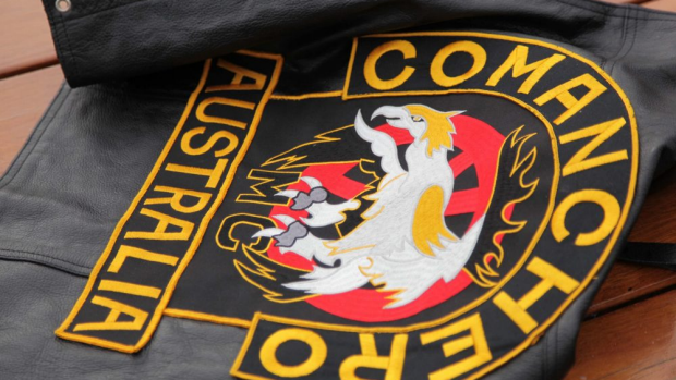 Article image for Police raid properties linked to the Comancheros motorcycle gang