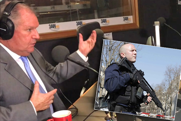 Article image for FIRST ON 3AW: Robert Doyle just put police rifles on the agenda
