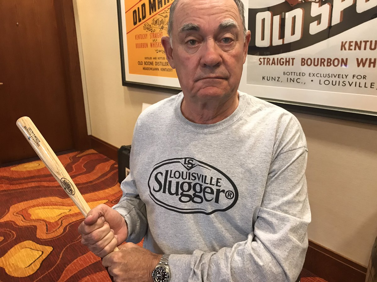 Burnso heads to the Louisville Slugger museum