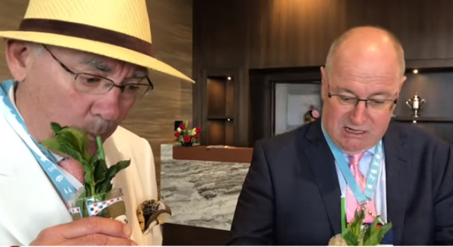 Article image for Ross and John try their first Mint Julep