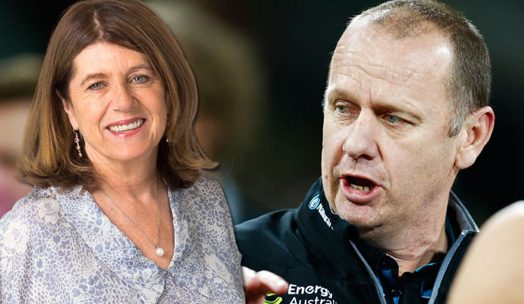 Article image for Ken Hinkley challenges Caro's 'arrow' on Charlie Dixon