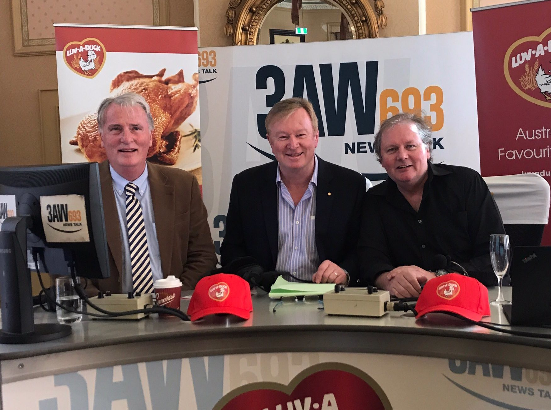 Article image for 3AW Afternoons with Denis Walter – LIVE from Craig's Royal Hotel for Luv-a-Duck!