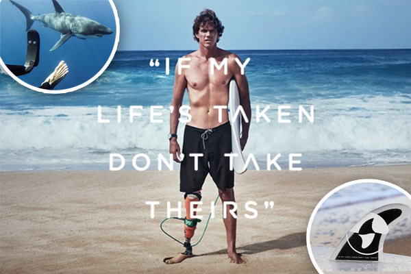 Article image for Surfer, who lost a limb to a shark, launches a global initiative aimed to stop culls