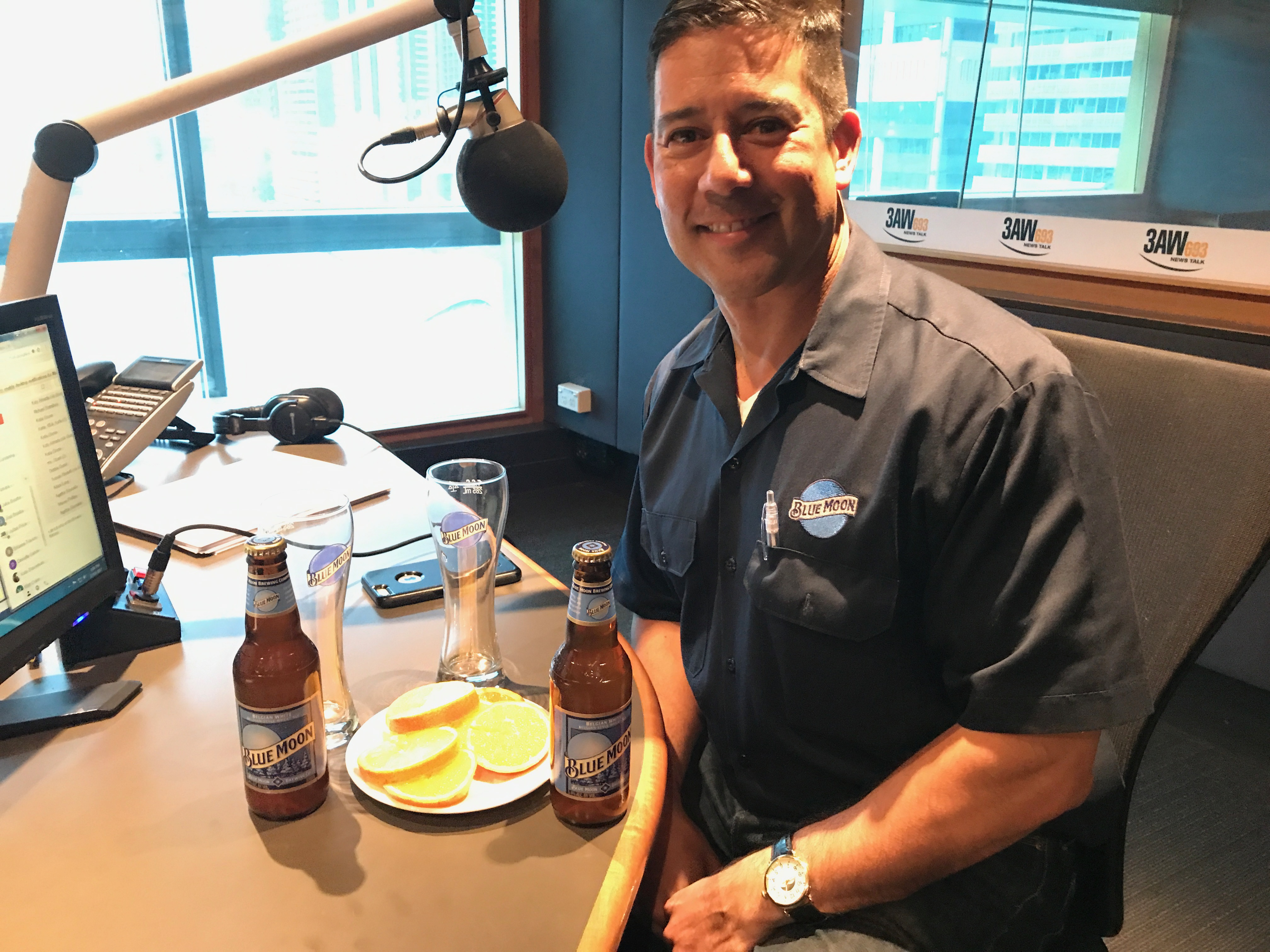 Article image for Tony Moclair tries Blue Moon beer