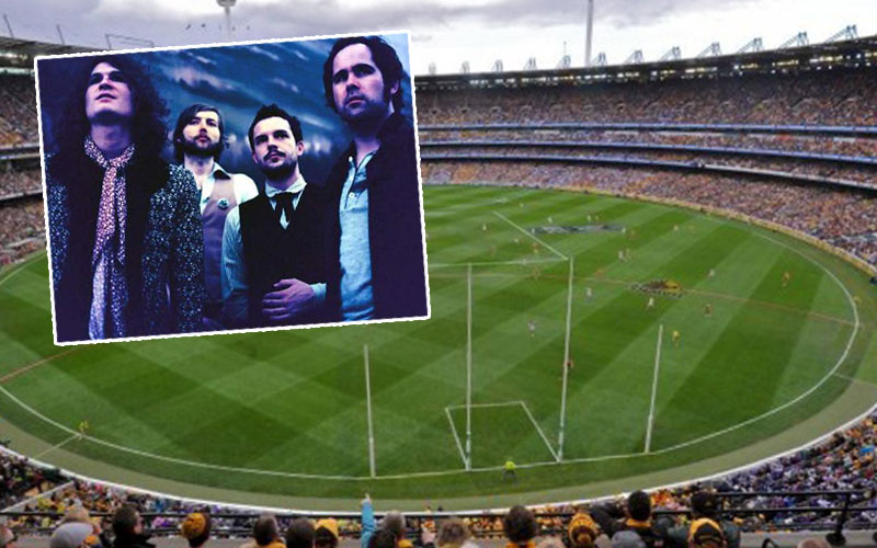 Article image for The Killers to headline the AFL's grand final entertainment?