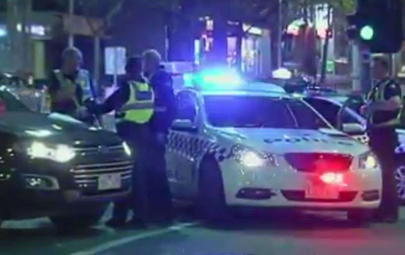 Article image for Man trying to flee gang gets hit by car on King Street