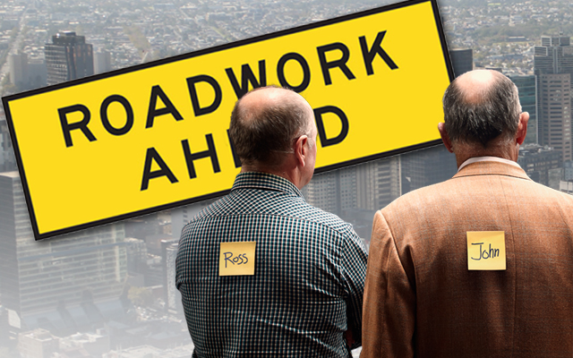 Article image for Ross and John find out why we are surrounded by roadworks