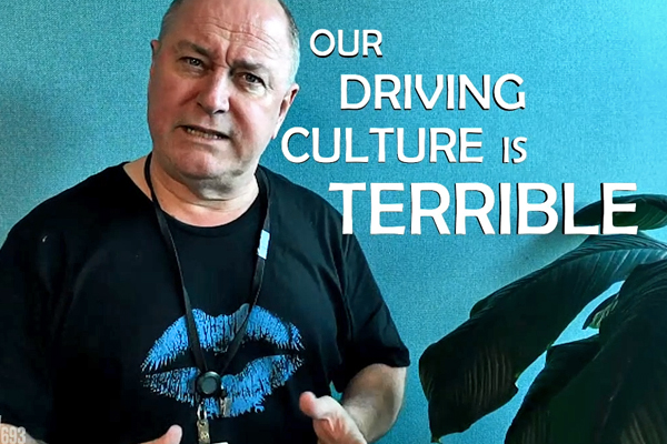 Article image for 'Our driving culture is terrible': Ross and John start roads campaign