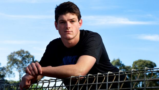 Article image for Angus Brayshaw suffers another head knock in the VFL