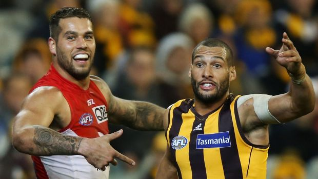 Article image for Franklin's five not enough as Hawthorn win a thriller