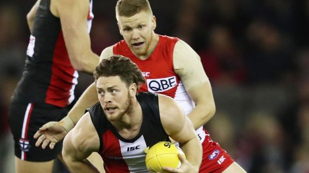Article image for Sydney beats St Kilda by 50 points at Etihad Stadium