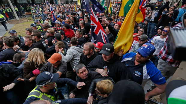 Article image for UPF denies Bendigo rally is a 'protest'