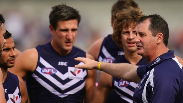 Article image for Leigh Matthews says Fremantle and North Melbourne are showing 'disrespect' by resting players before finals