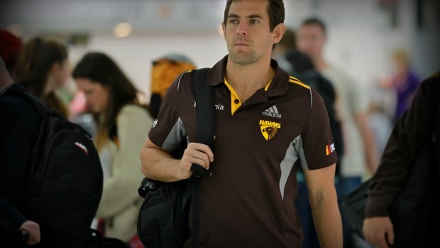 Article image for Hawthorn captain Luke Hodge busted drink-driving