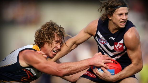 Article image for Nat Fyfe still can't guarantee he'll be fit for Fremantle's first final