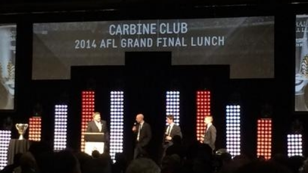 Article image for Gillon McLachlan forces men-only rethink for Carbine Club