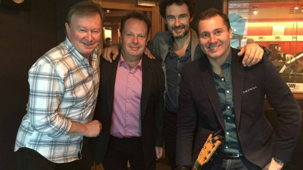 Article image for The Celtic Tenors perform for Denis Walter