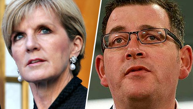 Article image for Julie Bishop wants more help from Victoria
