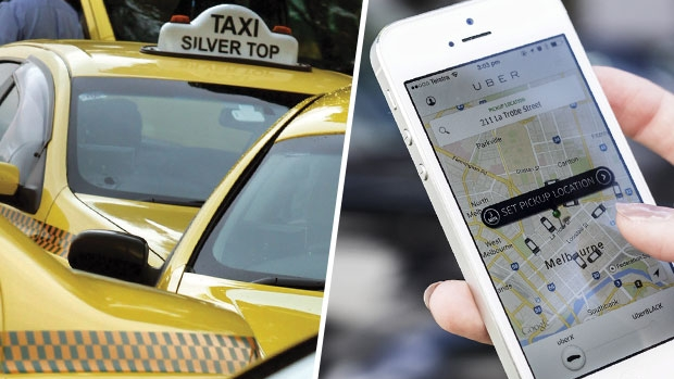 Article image for CAB DEBATE: Taxi owner and Uber driver clash on 3AW Mornings