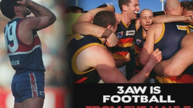 Article image for FROM THE VAULT: 3AW highlights from Western Bulldogs v Adelaide Crows preliminary final, 1997