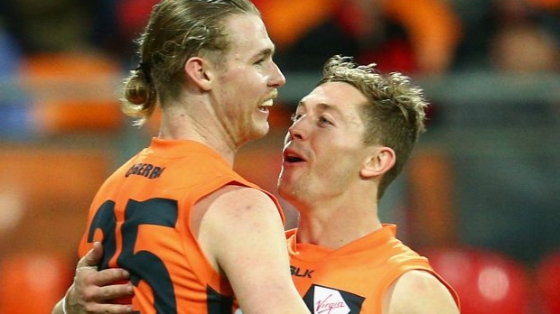 Article image for GWS forward Cameron McCarthy requests trade