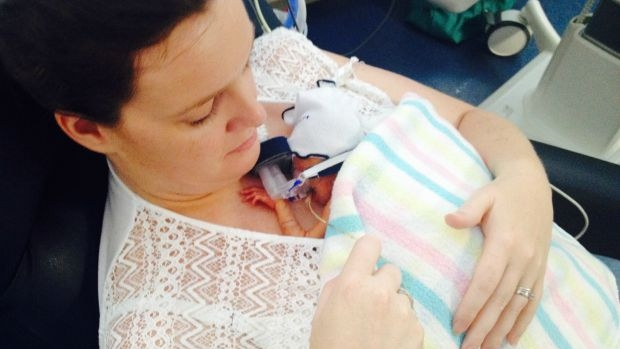 Article image for Incredible 000 call: 'I've had my baby early; it's 26 weeks'